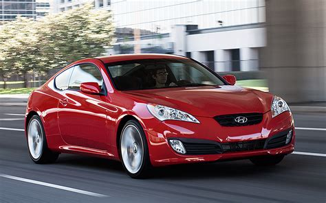 Best Coupes 20k by 2012 Hyundai Genesis Coupe Front Three Quarter Photo 2