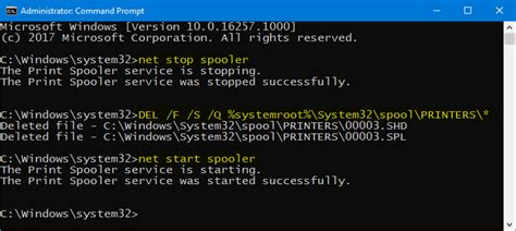 resetting printer spooler windows 10 cara reset membersihkan print spooler di windows 10