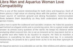 stumblers who like libra man and aquarius woman love