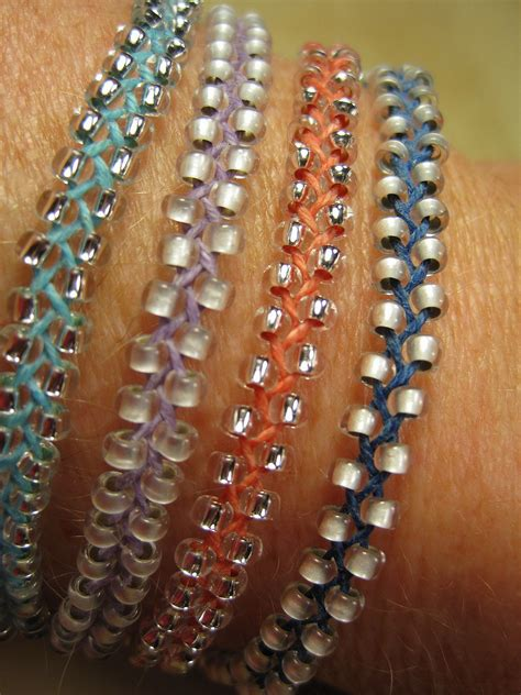 beadwork bracelet beaded braid bracelet dianne faw