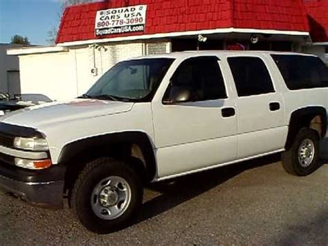 2001 chevy suburban 2500 1 owner fleet maintained youtube