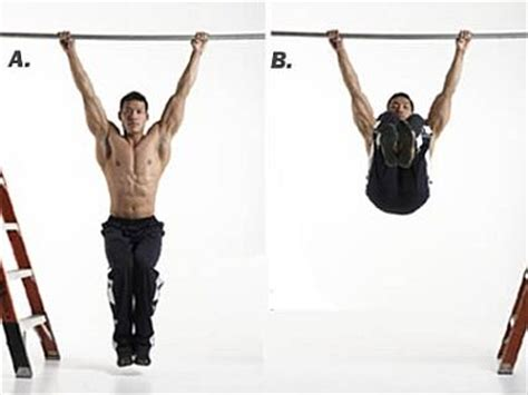 abs workout 11 hanging leg raise exercise fitness
