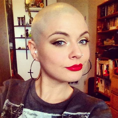 women not shaving new trend fashion forward women shaving head bald trendz maker