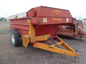 Feeder Wagon For Sale 1995 5x12 feeder wagon portable for sale at
