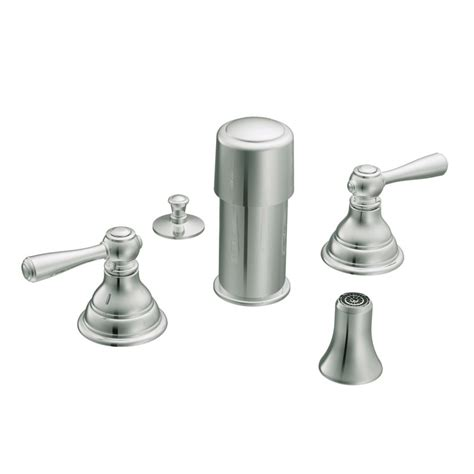 moen kingsley bidet faucet only in chrome the home depot