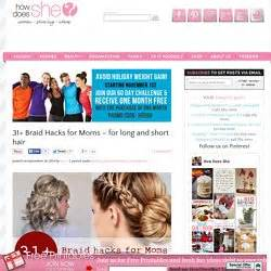31 braid hacks for moms for long and short hair short fashion pearlenglish pearltrees