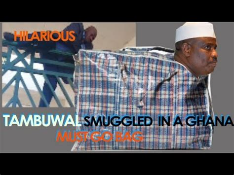 3 Into 1 Must Go by Lawmakers Smuggle Tambuwal Into The National Assembly In A