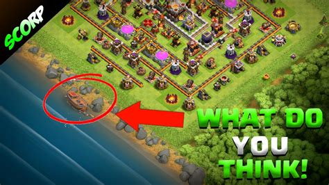 clash of clans boat videos clash of clans mysterious boat shipwreck update hype