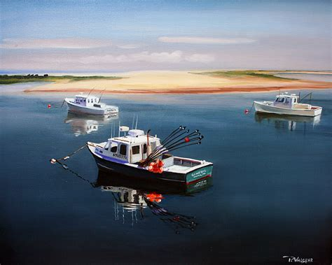 boats for sale on cape cod ma fishing boats cape cod painting by paul walsh