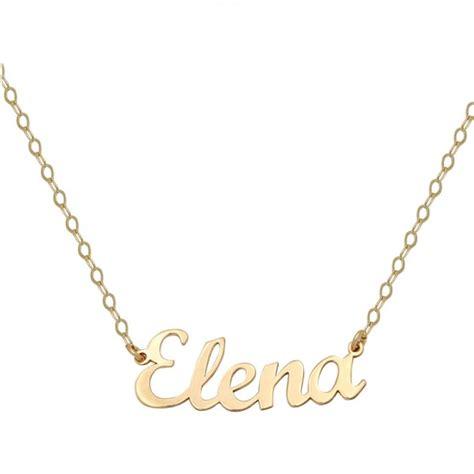 cadenas de oro significado colgante nombre personalizable con cadena en oro joya