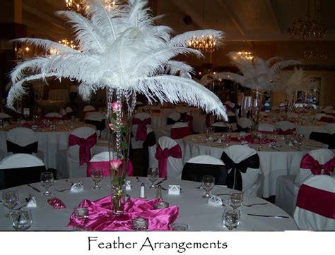 feather arrangement centerpieces feather arrangements