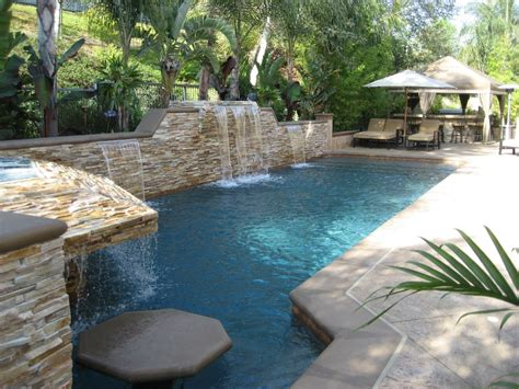 Images Of Backyards With Pools Capitano Construction Inc 187 Custom Back Yards