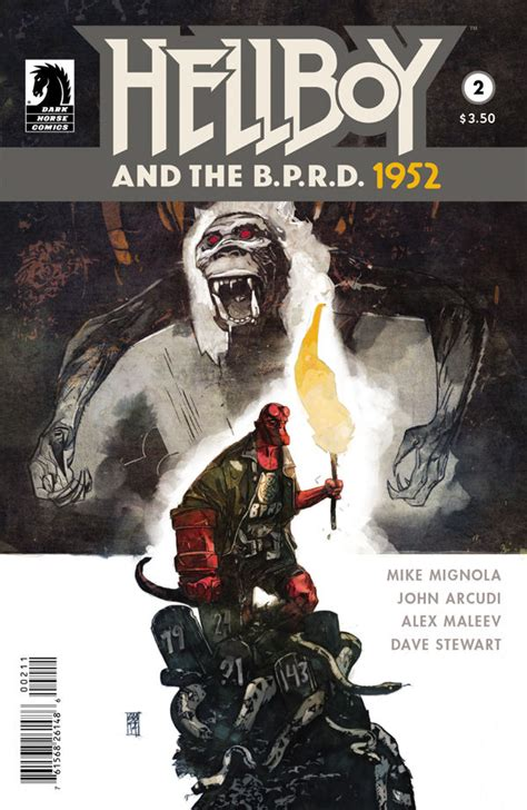 libro hellboy and the b p r d hellboy and the b p r d 1952 2 review unleash the fanboy