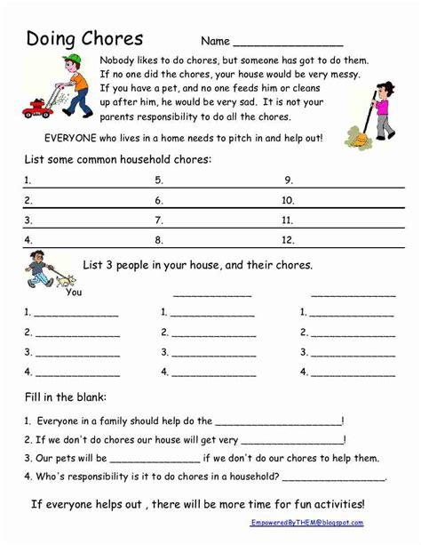 Social Skill Worksheets by Printables Skills Worksheets For High School