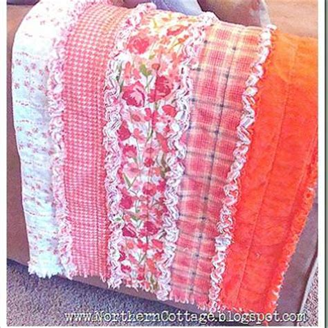 How To Make A Ruffle Quilt by Pattern Quilt Rag Simple Quilt Pattern