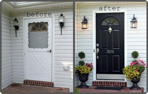 picking a front door color picking the right front door color before and after studies