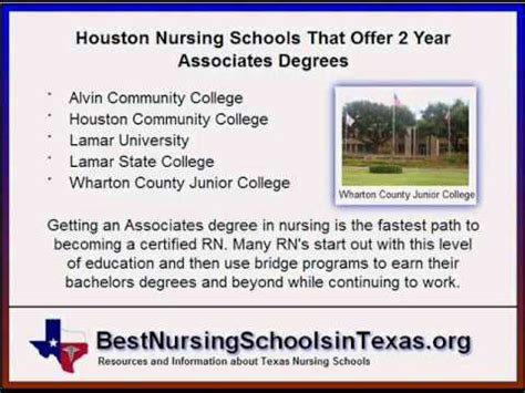 Nursing Programs In - nursing schools in houston top rn lvn programs