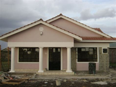 3 Bedroom Bungalow Design Three Bedroom Bungalow Design In Kenya Home Combo