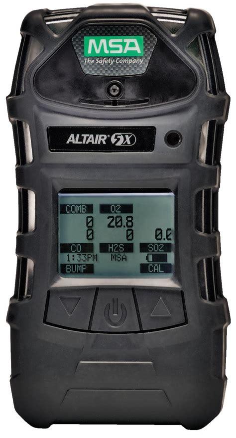 Multi Gas Detector msa altair 5x detector mono lel o2 co h2s 10116924