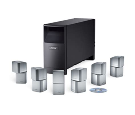 acoustimass  home entertainment speaker system bose