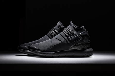 Adidas Y 3 Qasa High In Black by Adidas Y 3 Qasa High Black Where To Buy