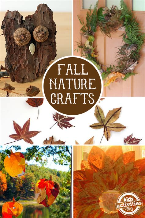 nature craft for 16 fall nature crafts for preschoolers fullact trending