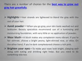 best way to blend gray hair into brown hair using highlights to grow out gray hair dark brown hairs