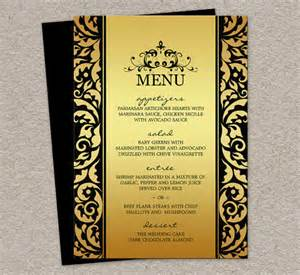 Dinner Menu Templates by Sle Menu Template 19 In Pdf Psd Word