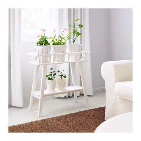 etagere jysk lantliv plant stand white 68 cm ikea