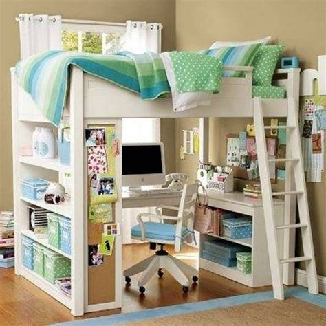 double loft bed with desk bunk bed office underneath home design