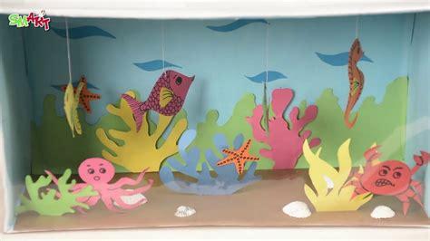 origami aquarium origami aquarium images craft decoration ideas