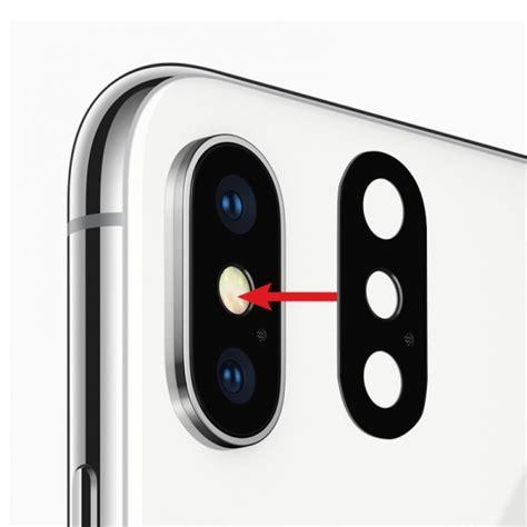 lentille de remplacement appareil photo arri 232 re en verre pour iphone x