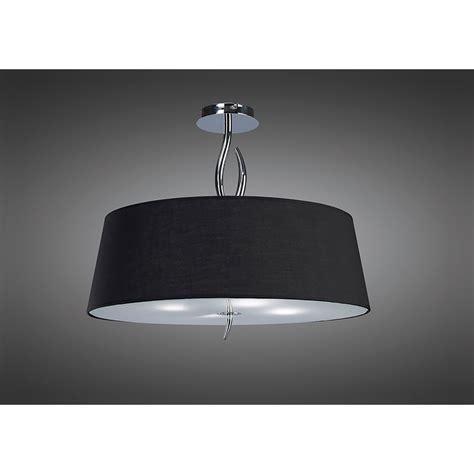 Mantra Ninette 4 Light Low Energy Semi Flush Ceiling Low Energy Flush Ceiling Lights