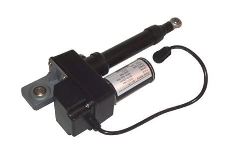 12v actuator ram 2 quot linear actuator 225lb adjustable stroke 12 volt dc ebay