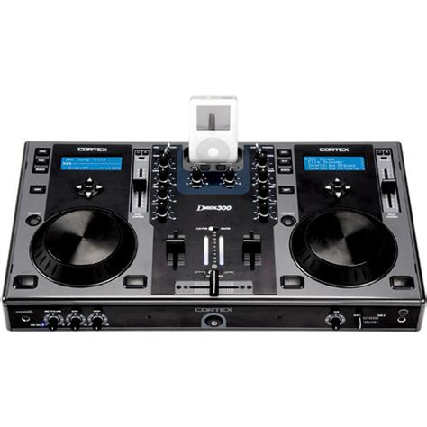 dj in console cortex dmix 300 digital mixing dj console for ipod and