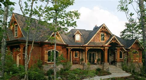 rustic home plans smoky mountain house plan 3