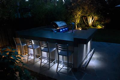outdoor kitchen construction night lights outdoor kitchen construction night lights