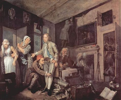 8 Paintings By Hogarth by A Rake S Progress