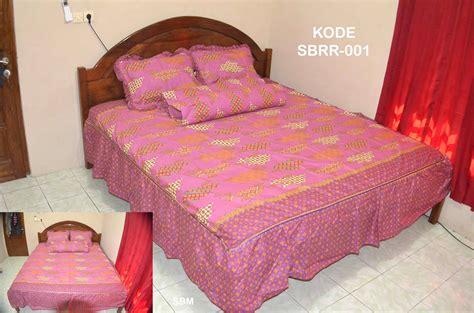 Bed Murah Pekalongan sprei batik rumbai modern
