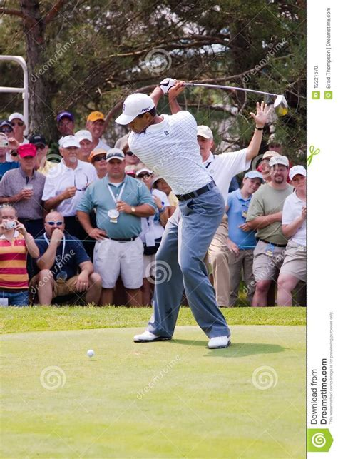 Tiger Woods Full Swing 1 Of 6 Editorial Image Image