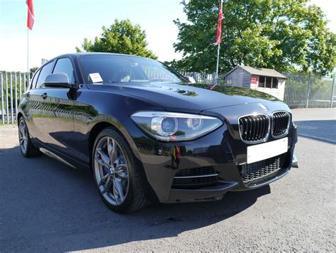 bmw 1 series m135i in sapphire black new car protection