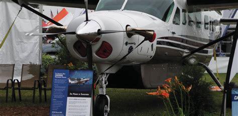 pratt whitney pt6a 114 turbine engine cessna 208b caravan re engine pack grows business aviation news