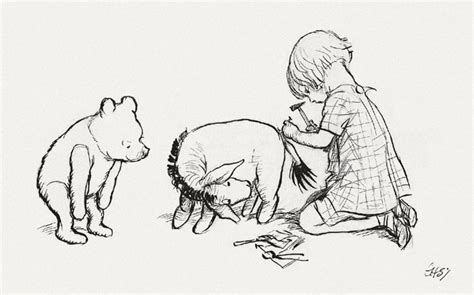 E H Shepard Sketches by Exercise The History Of Illustration Draw Me A Picture