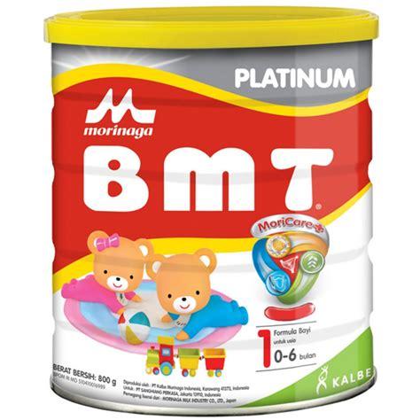 Formula Bmt 0 6 Bulan Jual Morinaga Bmt Platinum Moricare 800gr