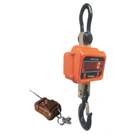 Crane Scale Aluminium Housing With Remote Excellent Ocs Xz Aae 3t 1kg wensar ocs 5t crane scale 5 ton accuracy 2kg weighing scale price specification features