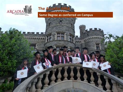 Arcadia Mba Accreditation by Arcadia Unveristy Top Ranked Us Part Time Mba In Singapore