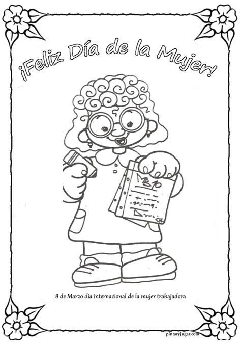 dibujos para colorear regalo del da de la madre dibujos originales para colorear el 8 de marzo d 237 a