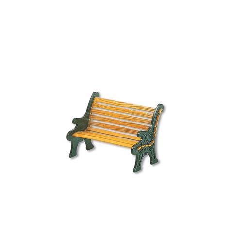 wrought iron park bench department 56 52302 village wrought iron park bench