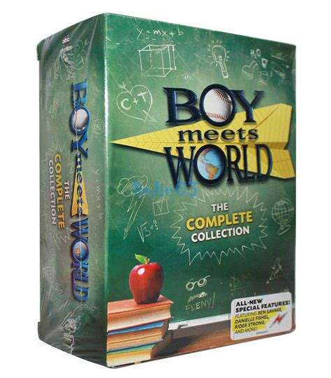 Boy Collection 1 boy meets world the complete series collection dvd seasons 1 7 22 disc set cad 61 53