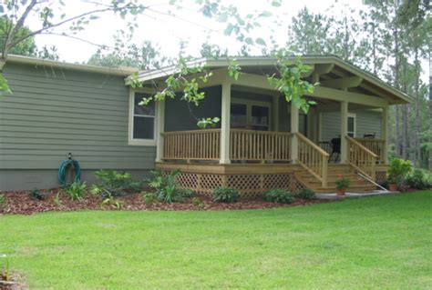 landscaping ideas for mobile homes search ranch